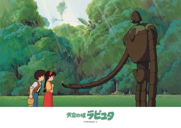 成人电影天空_108-298(108片拼图-宫崎骏-天空之城-庭园的机器人)